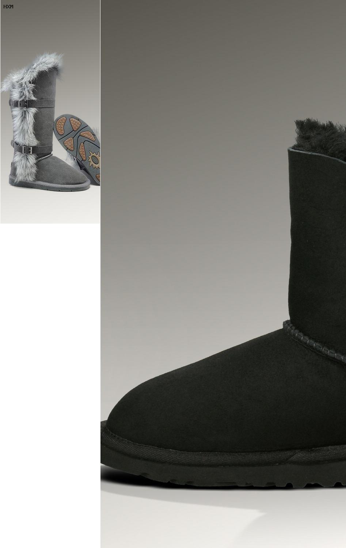 ugg boots bailey button ii schwarz