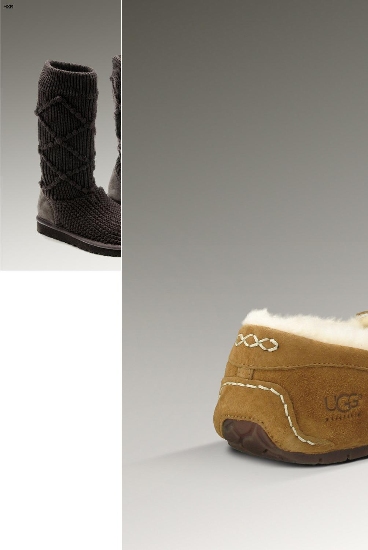 ugg boots blau 38