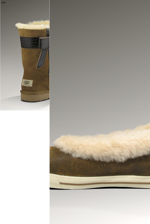 ugg boots button lammfell hellbraun