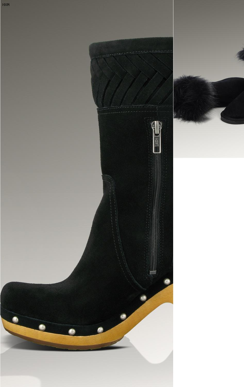 zalando ugg boots damen schwarz